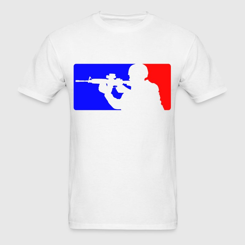 Major league AR-15 - Men's T-Shirt