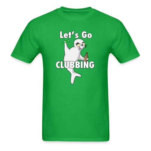 Let's Go CLUBBING - Men's T-Shirt