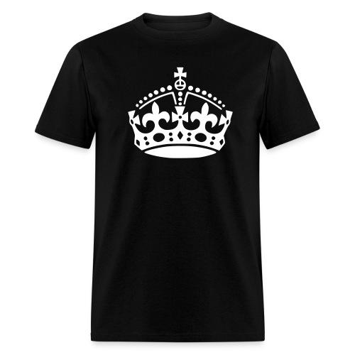 Keep Calm Crown tee - Men's T-Shirt