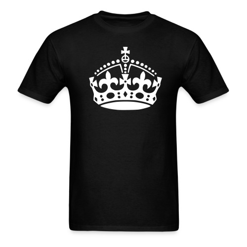 Keep Calm Crown tee - Men's T-Shirt