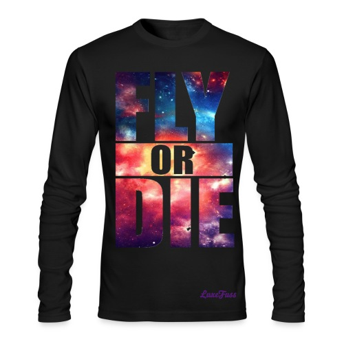 Fly or Die Men - Men's Long Sleeve T-Shirt by Next Level