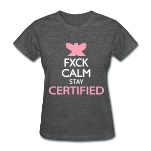 fxck calm - Women's T-Shirt