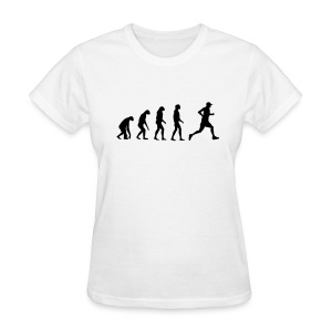 Evolved to Run - Women's T-Shirt