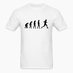 Evolved to Run T-Shirts