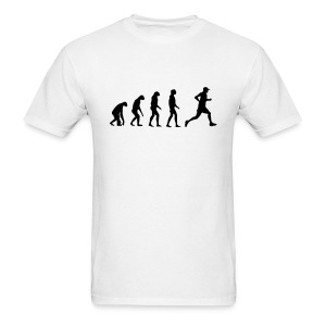 Evolved to Run - Men's T-Shirt