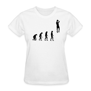 Evolved to play Basketball - Women's T-Shirt