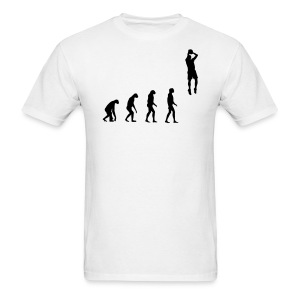 Evolved to play Basketball - Men's T-Shirt
