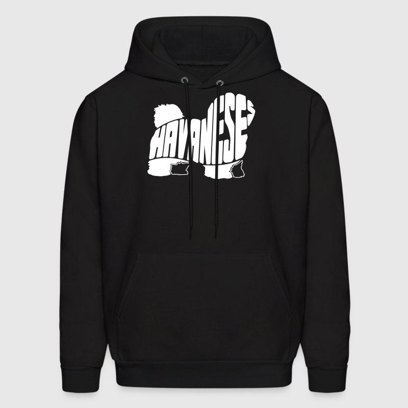 Havanese Dog Art Hoodies - Men's Hoodie
