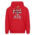 keep calm and lace up Hoodies