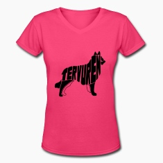 Tervuren Dog Art Women's T-Shirts