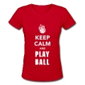 Keep Calm and Play Basketball Women's T-Shirts