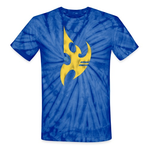 Protoss SC2 Tie Dye Tee - Unisex Tie Dye T-Shirt