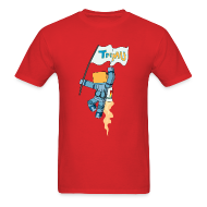 T-Shirts ~ Men's T-Shirt ~ Men's T-Shirt: TrueMU w/ Flag