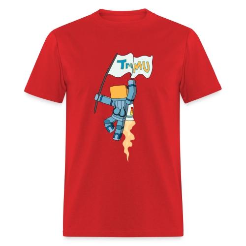 Men's T-Shirt: TrueMU w/ Flag - Men's T-Shirt