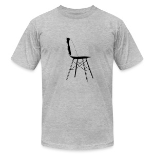 eames chair black - Men's T-Shirt by American Apparel