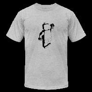 T-Shirts ~ Men's T-Shirt by American Apparel ~ legoman black