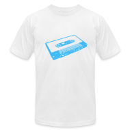 T-Shirts ~ Men's T-Shirt by American Apparel ~ tape blue