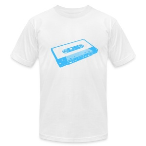 tape blue - Men's T-Shirt by American Apparel