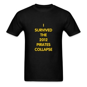 I Survived the Collapse - Men's T-Shirt