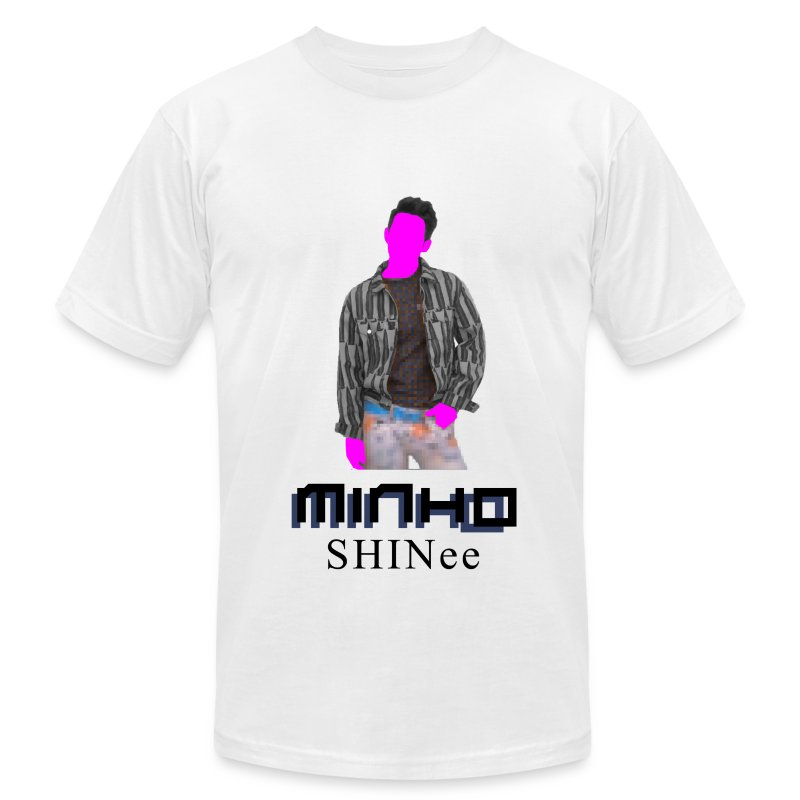 SHINEE- Minho Dream Girl - Men's T-Shirt by American Apparel