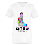 T-Shirts ~ Men's V-Neck T-Shirt by Canvas ~ SHINEE- Onew Dream Girl