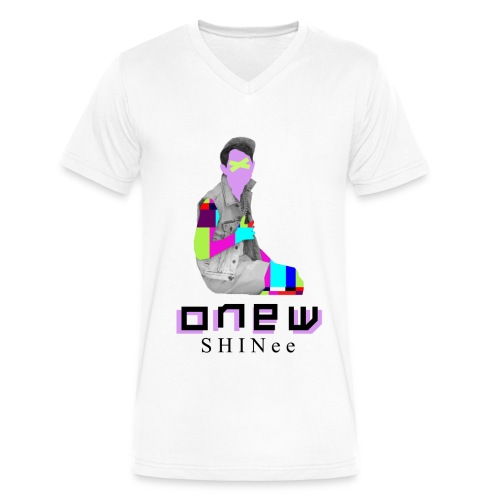 SHINEE- Onew Dream Girl - Men's V-Neck T-Shirt by Canvas