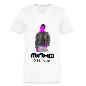 SHINEE- Minho Dream Girl - Men's V-Neck T-Shirt by Canvas