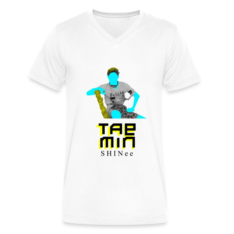 SHINEE- Taemin Dream Girl - Men's V-Neck T-Shirt by Canvas
