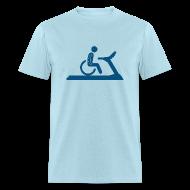 T-Shirts ~ Men's T-Shirt ~ Wheelchair Workout
