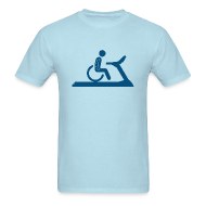 T-Shirts ~ Men's T-Shirt ~ Wheelchair Workout