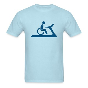 Wheelchair Workout - Men's T-Shirt