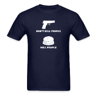 T-Shirts ~ Men's T-Shirt ~ Cheeseburgers Kill People