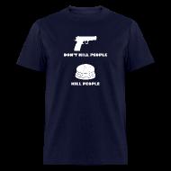 T-Shirts ~ Men's T-Shirt ~ Cheeseburgers Kill People