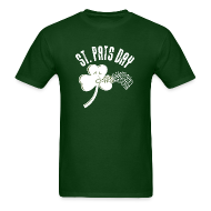 T-Shirts ~ Men's T-Shirt ~ Puking Shamrock (green)