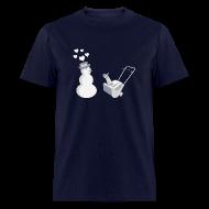 T-Shirts ~ Men's T-Shirt ~ Snow Blower