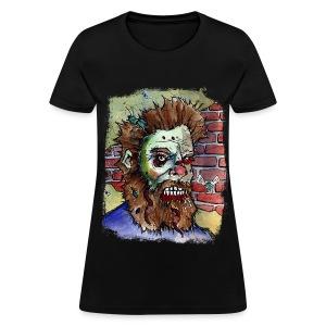 womens living dead beard zombie - Women's T-Shirt