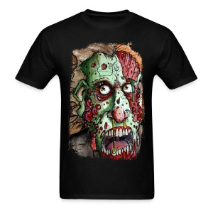 mens snot boil zombie - Men's T-Shirt