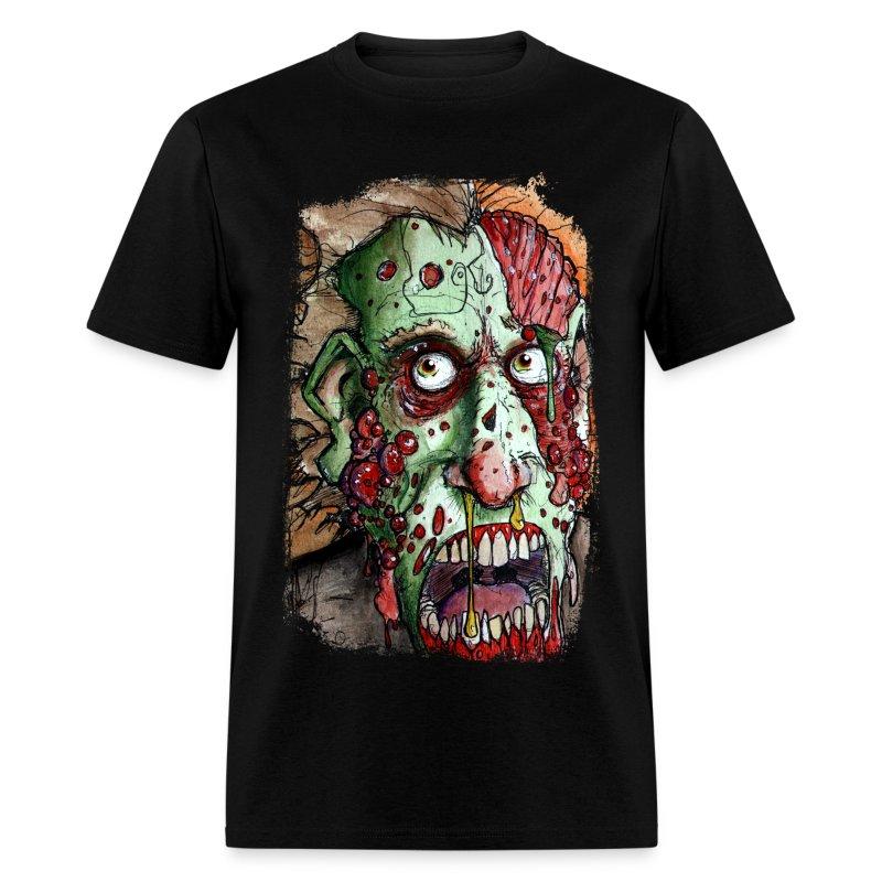 mens snot boil zombie - Men's T-Shirt