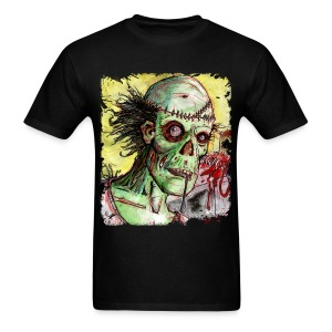mens zombie patient - Men's T-Shirt