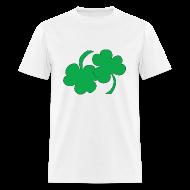 T-Shirts ~ Men's T-Shirt ~ 69ing Shamrocks (white)