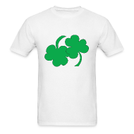 T-Shirts ~ Men's T-Shirt ~ 69ing Shamrocks (white)