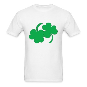 69ing Shamrocks (white) - Men's T-Shirt