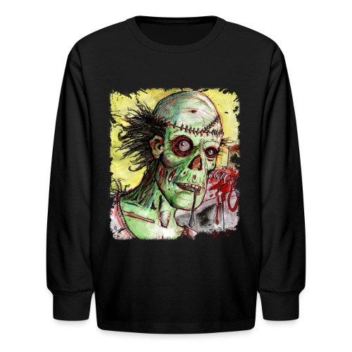 kids zombie patient - Kids' Long Sleeve T-Shirt