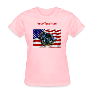 Ladies T Front FlagHD Custom - Women's T-Shirt
