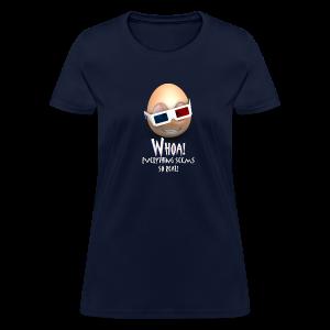 Jason's a Moron - 3D Glasses - Womens - Women's T-Shirt