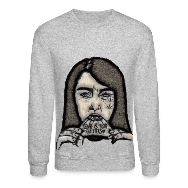 Rehabs For Quitters Crewneck - Crewneck Sweatshirt