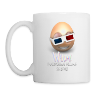 Mugs & Drinkware ~ Coffee/Tea Mug ~ Jason's a Moron - 3D Glasses Mug