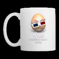 Mugs & Drinkware ~ Coffee/Tea Mug ~ Jason's a Moron - 3D Glasses Mug
