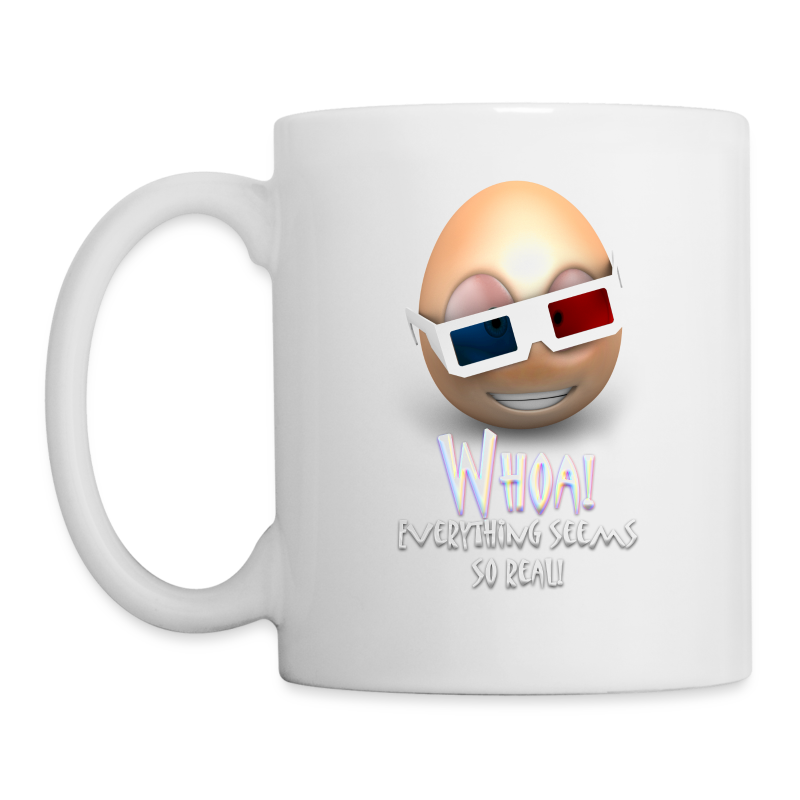 Jason's a Moron - 3D Glasses Mug - Coffee/Tea Mug