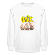 Kids' Shirts ~ Kids' Long Sleeve T-Shirt ~ The Crack - Kids long sleeve